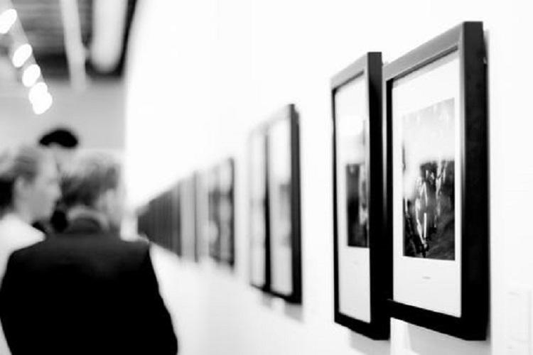 Utställning av tavlor
